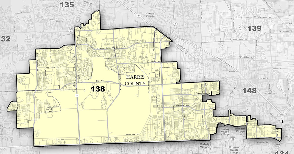 Map of District 138
